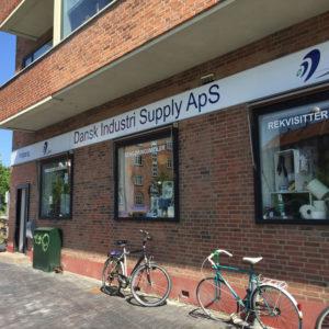 Dansk Industri Supply - Facadeskilt