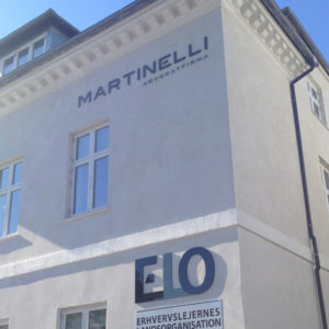 Martinelli - Facadebogstaver